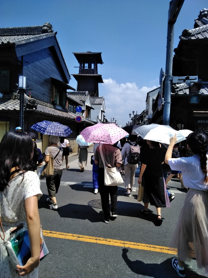 Toki no kane (Torre que marca el tiempo) en Koedo kawagoe