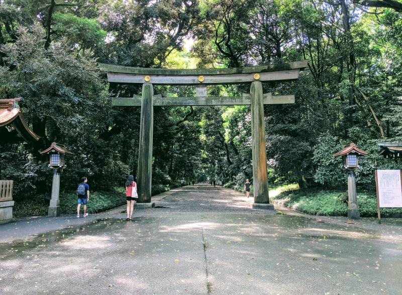 Meiji Jingu Shrine.