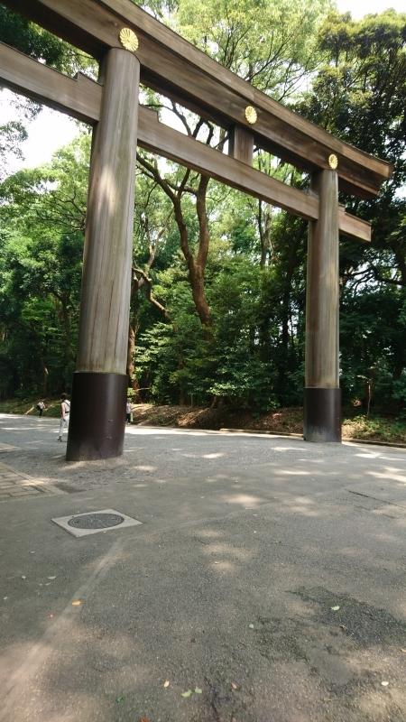 Le sanctuaire shinto de Meiji