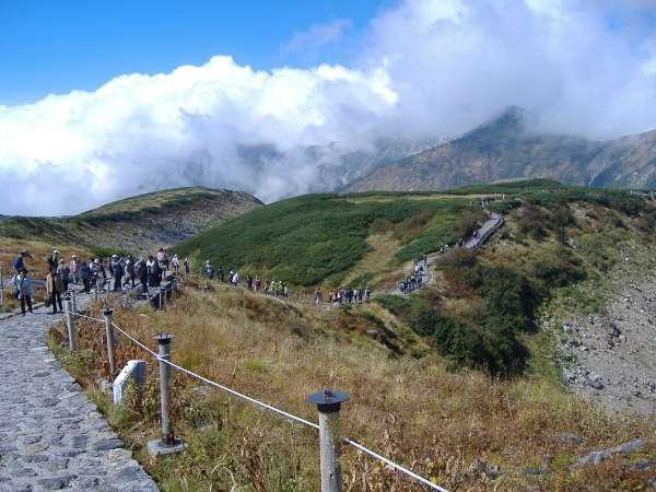 highland path at Murodo.