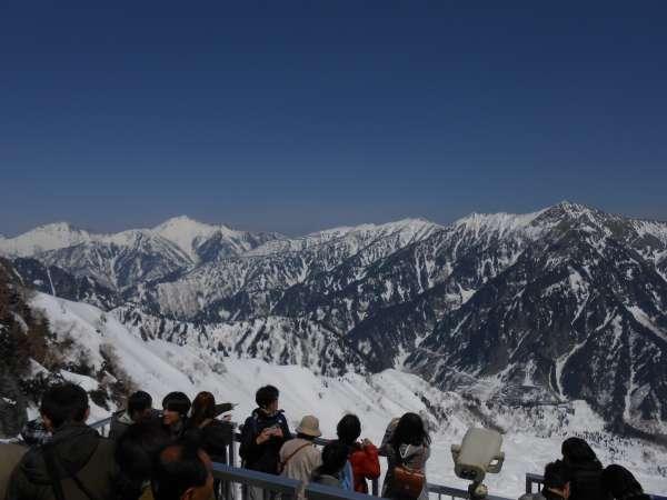 Ushiro Tateyama mountain range.