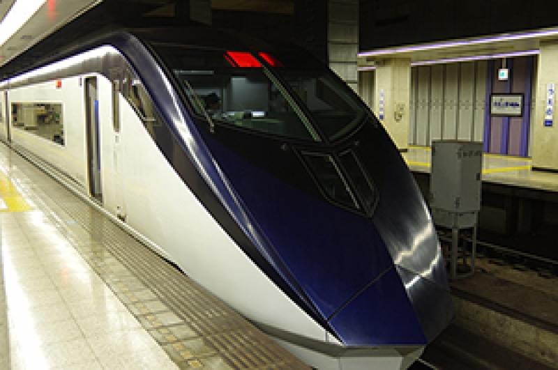 Keisei Skyliner takes you to Tokyo within on hour.