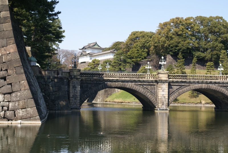 Nijubashi Bridge, a front gate of the Imperial palace
