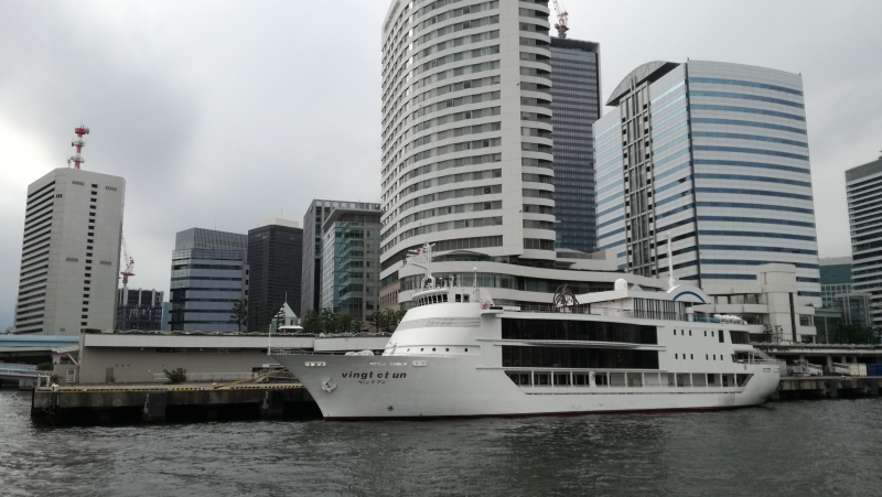 Fluß-Sumida Botfahrt