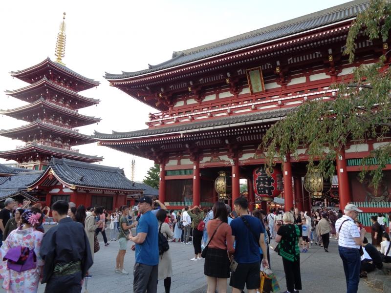 Asakusa,Sensoji-Tempel und Fünf-Stöckige Pagode
