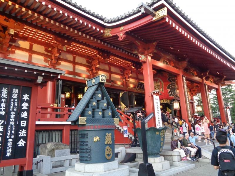 Asakusa,Sensoji-Tempel