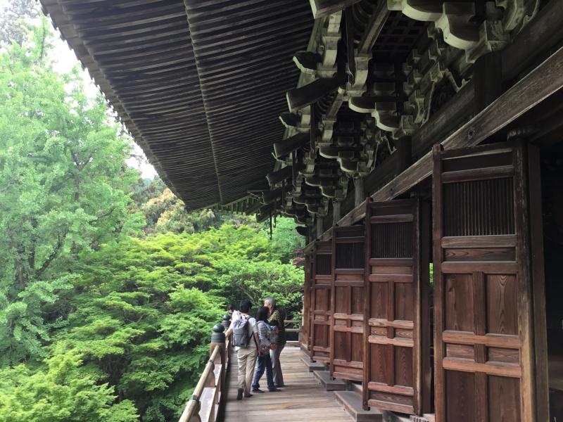 Maniden (main hall) established in 970 by Saint Seiku.