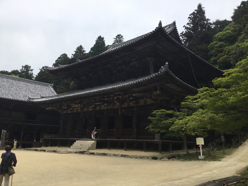 Daikodo as the main hall of Engyoji temple and established in 986.