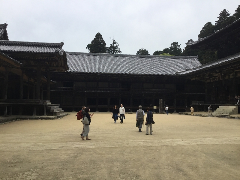 Jikido established in 1174 was used as the place where trainee monks had slept and eaten