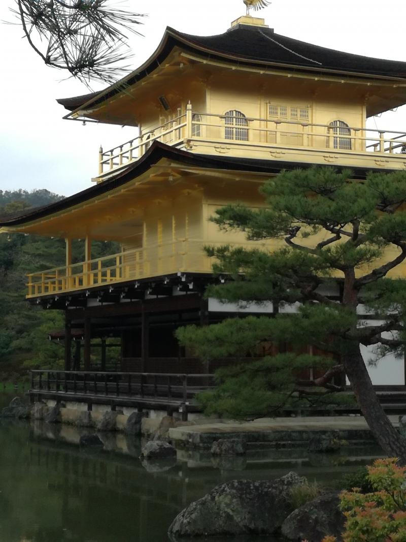 Goldener Pavillon, Rokuon-ji Tempel, Kyoto
