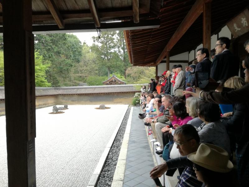 Zen Garten, Ryoan-ji Tempel, Kyoto