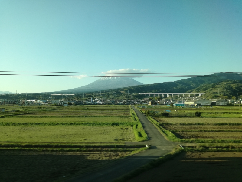 Mt.Fuji, aus Shinkansen