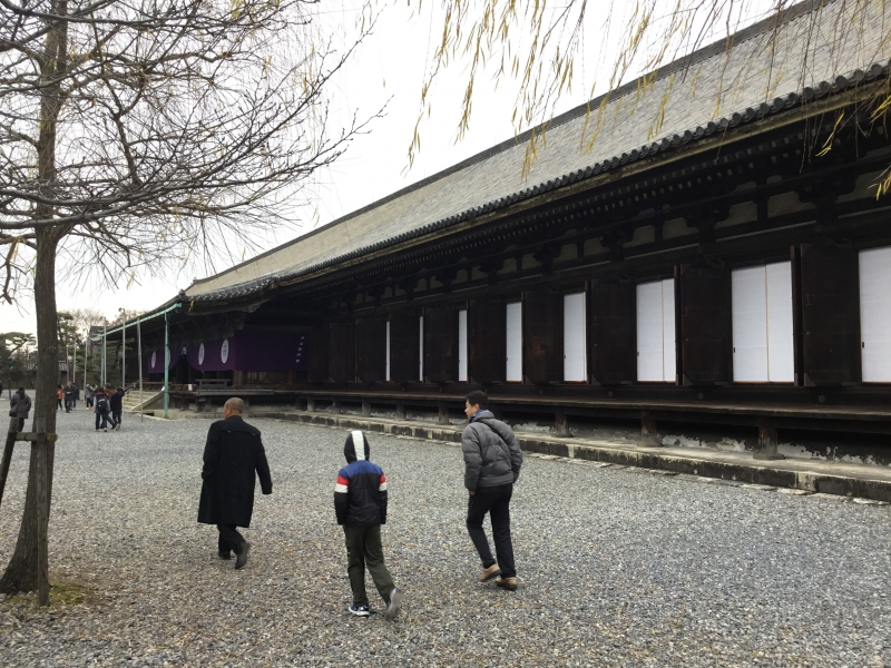 Sanjusangendo temple was originally founded in 1165