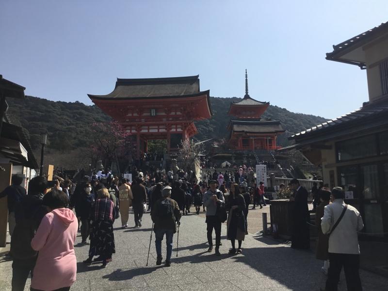 Path to Kiyomizu temple