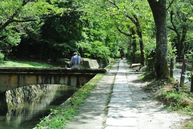 Path of philosophy: Side road of Lake Biwa canal