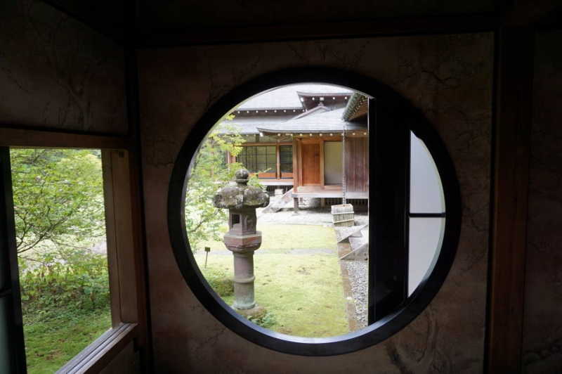 One of the three styles of Japanese traditonal architecture found in Imperial Vila