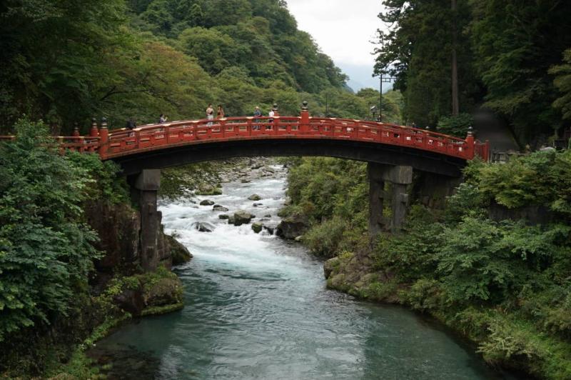 Shinkyo, a devine bridge