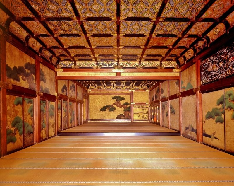 The Ninomaru palace in Nijo castle
