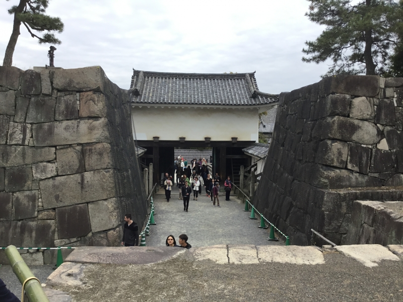 Nijyojo-castle for the use of Edo government interim staying place in Kyoto