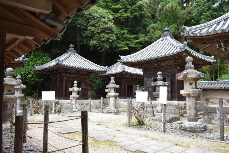 El cementerio de la familia Honda en el que ha hecho rodaje de la película.