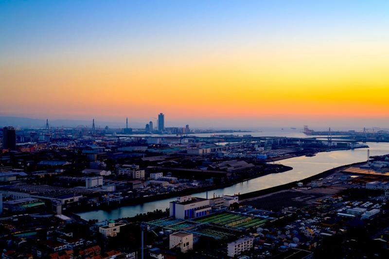 [7 Minutes]Osaka Tour: Osaka Bayside Helicopter Cruising