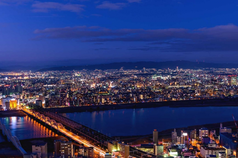 [15 Minutes]Osaka Tour: Osaka City Long Helicopter Cruising