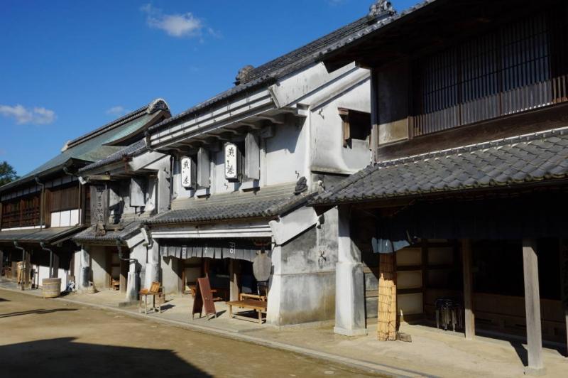 Merchant houses of Edo-period