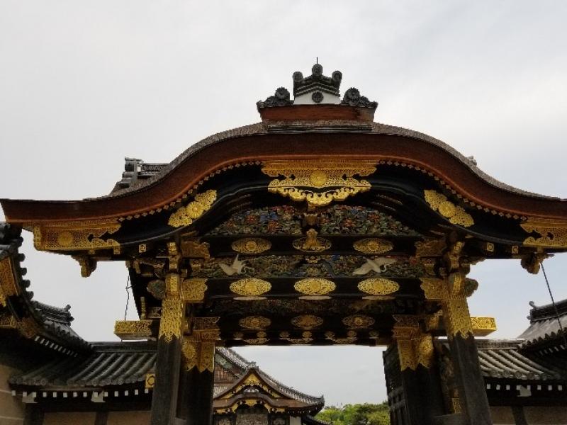 The gorgeous Kara-mon Gate, Nijo Castle