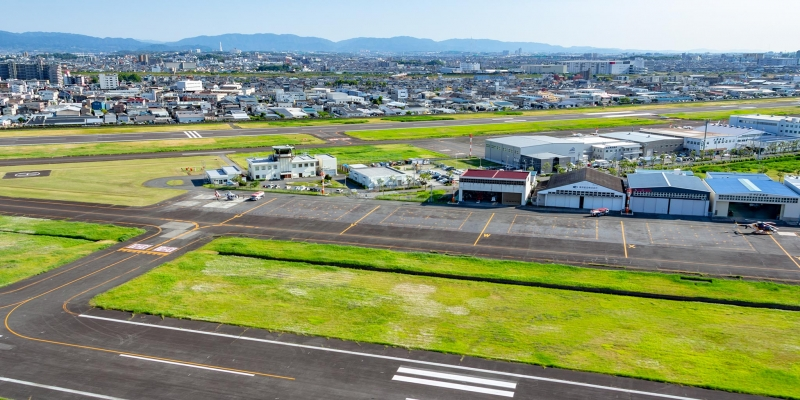 [15 min]Osaka - Cessna cruising to feel the history