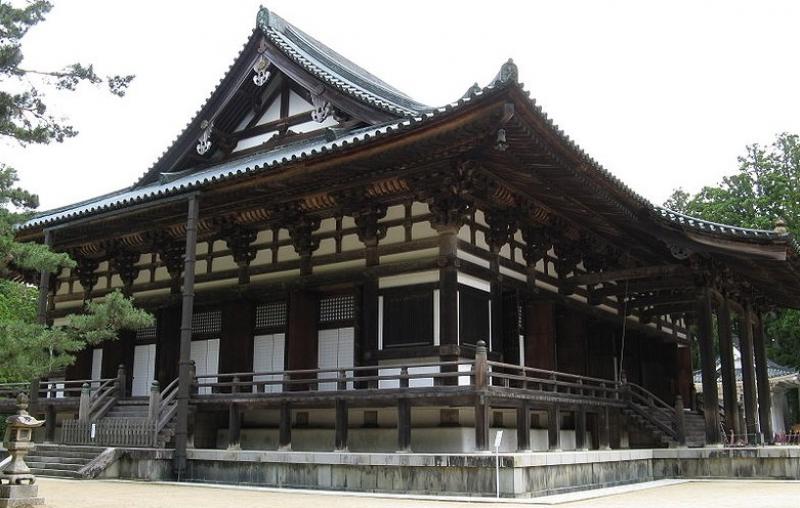 Mt.Koya Kongoubu-ji Kondo(Main hall). Many Buddhist services are held in this building.