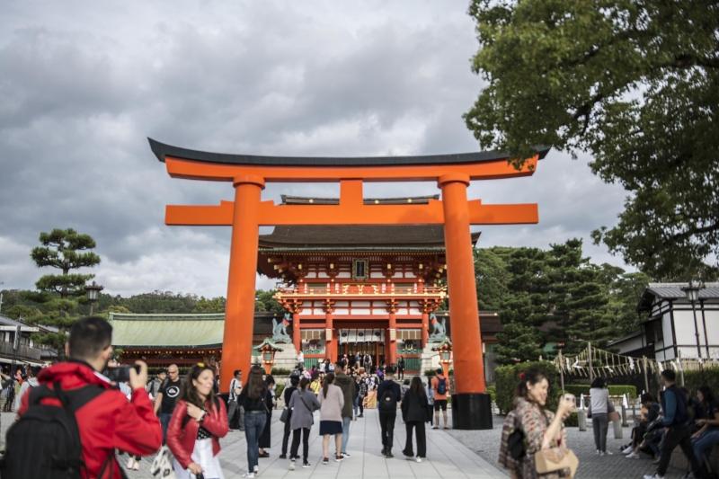 Fushimi Inari shrine torii gates