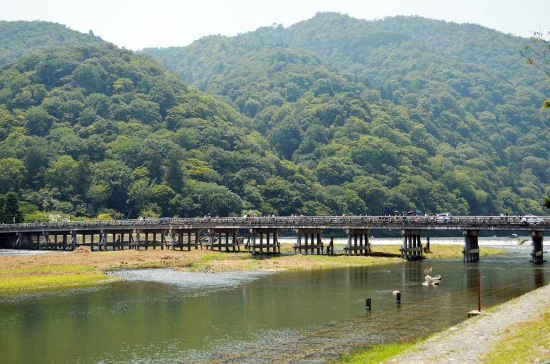 Togetsu bridge in Arashiyama