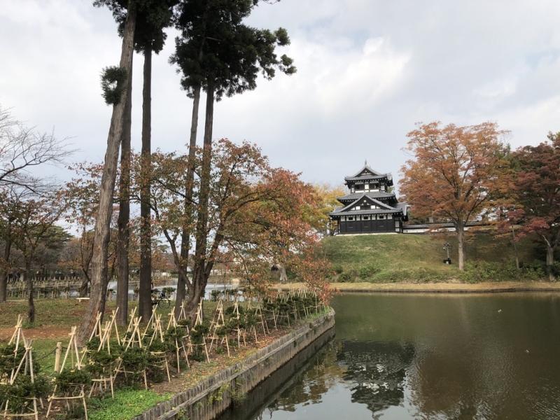 Takada Park in fall.