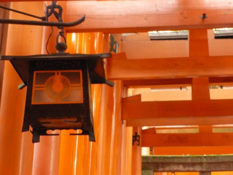 Senbon Torii (many orange Gates like a tunnel)