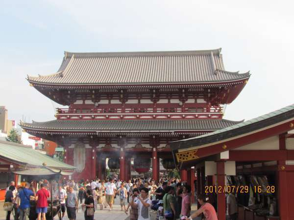 Main Hall at Sensoji Temple