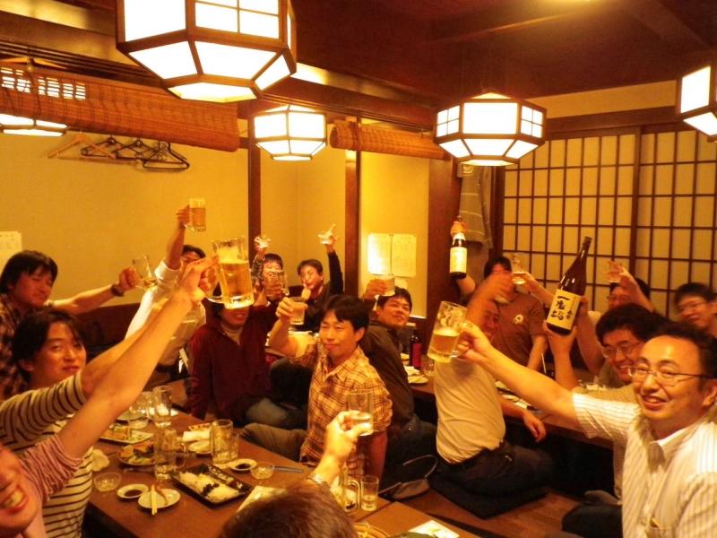 You can enjoy the Japanese like atmosphere at Izakaya.