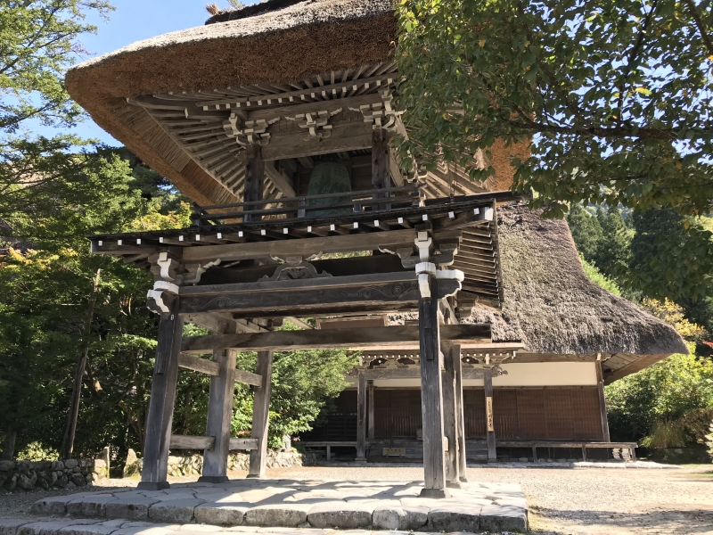 Myozenji Temple Museum is within a venerable temple, which consists of main hall, monk's residense and bell tower.
