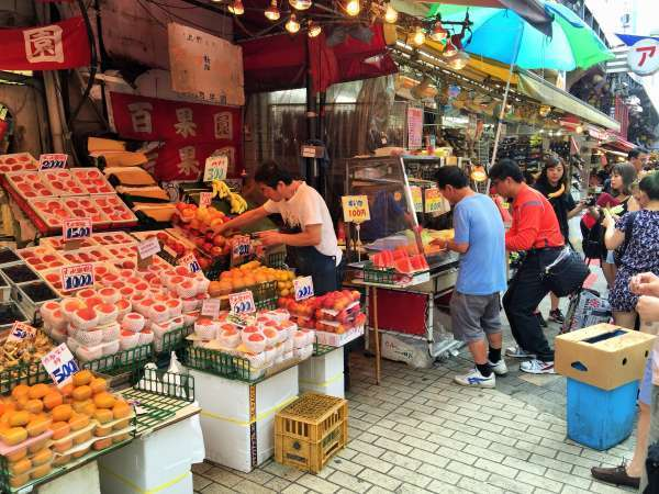 Ameyoko shopping street 9/14/2015