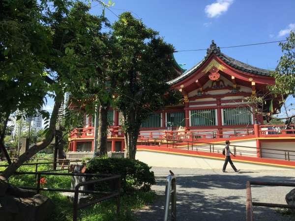 Bentendo temple 9/14/2015