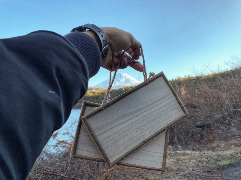 Messages boards - Putting messages boards in the forest could help those who may want to take their life