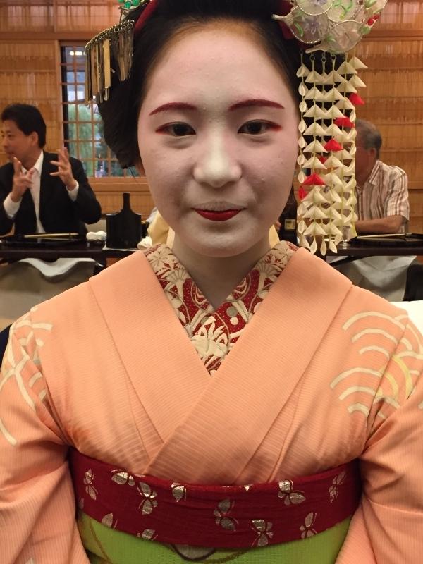 Maiko-girl in Gion.