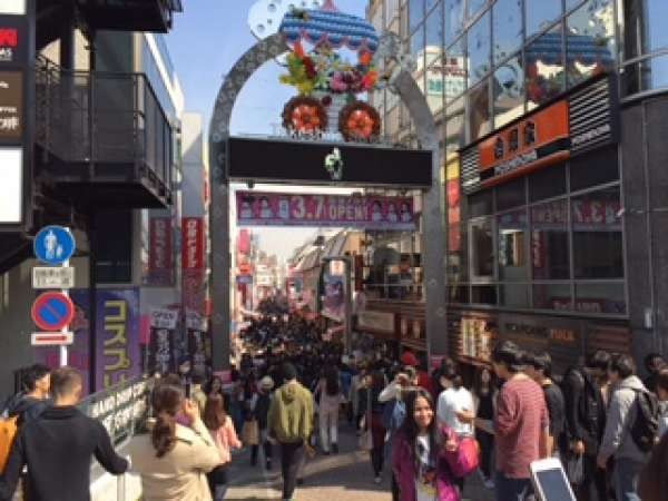 Harajuku, Takeshita Street, girly paradise.