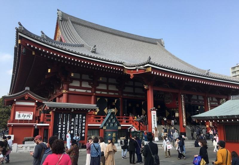 Sensoji Temple (Oldest temple in Tokyo)