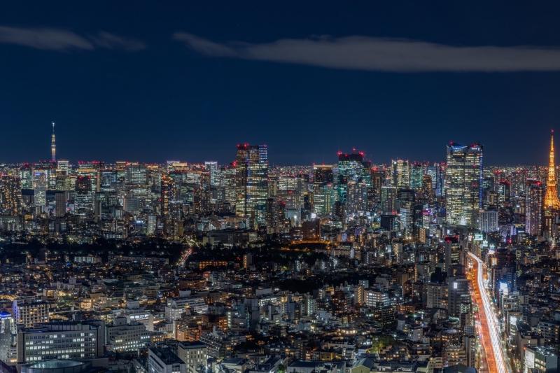 View from Shibuya Sky