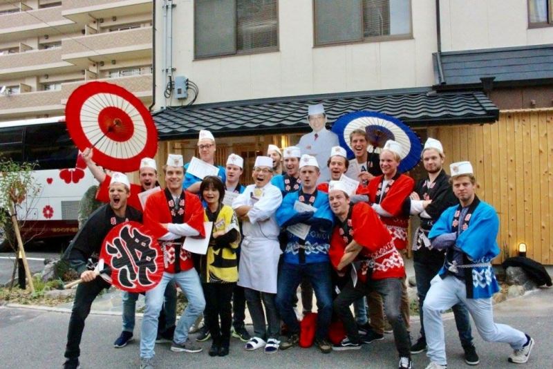 Osaka:Sushi & Washoku School Lesson(Professional level) Tour