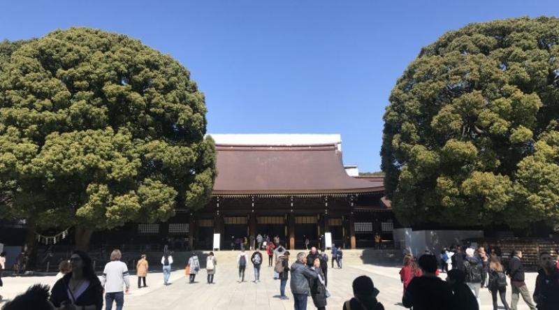 Main sanctuary (Meiji Jingu Shrine)