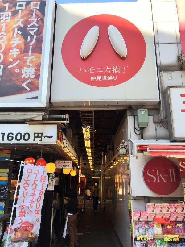Harmonica alley in Kichijoji