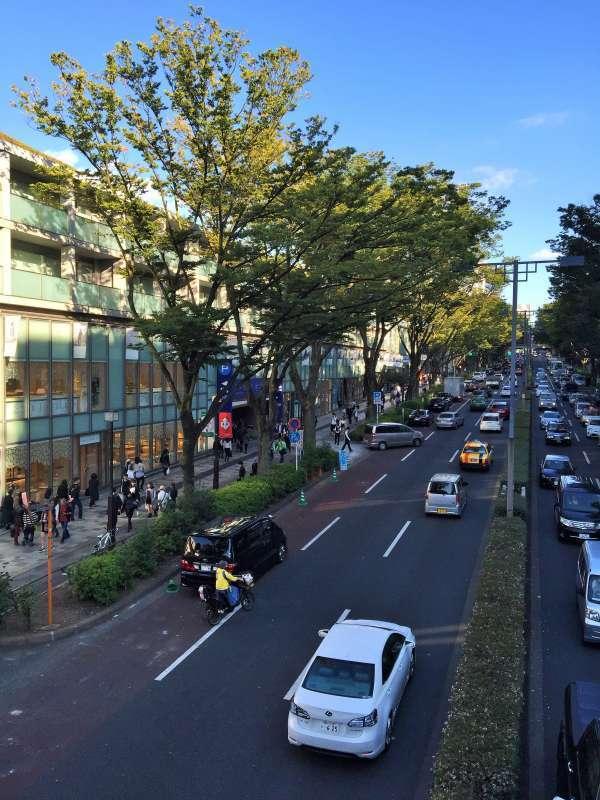 Omotesano street