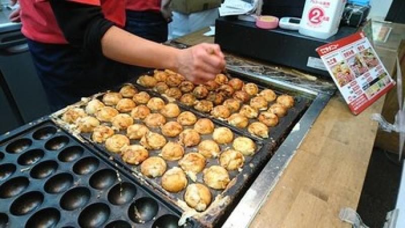 Lunch Takoyaki
