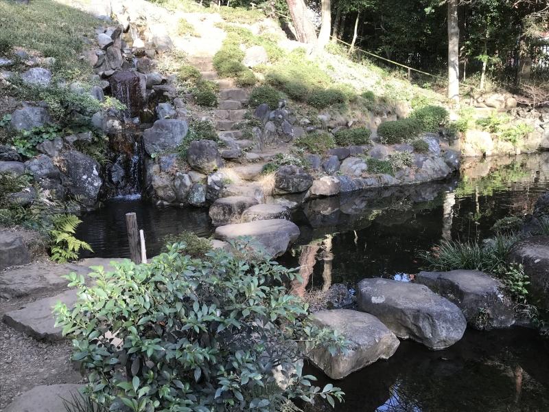 Tonogayato Japanese Gardens on the way back to Shinjuku